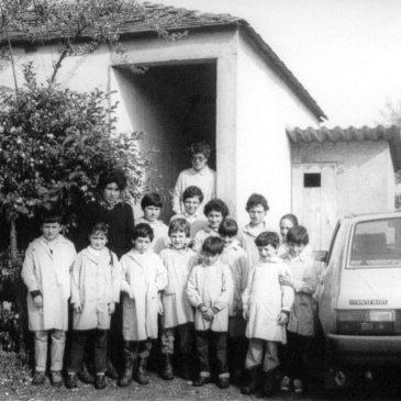 Escola de San Mamede e Santandrea, último ano de funcionamento, 1985