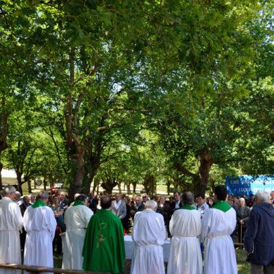 Misa do Día dos Maiores no Páramo