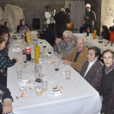 Panorámica da sala do banquete