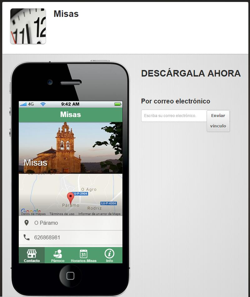 Aplicación para móvil