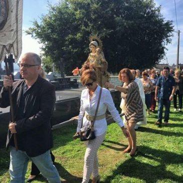 Festa do Rosario en Piñeiro. Edición 2016