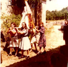 O san Vitorio en Vilarmosteiro