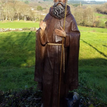 San Antón Abade – Celébrase na parroquia de Adai