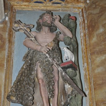 San Xoán Bautista, patrono de Friolfe